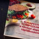 Első budapesti szimpózium a növényi alapú táplálkozásról